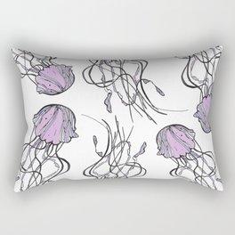 Sea-life Collection - Jellyfish Rectangular Pillow
