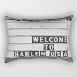 Welcome to Harlem Rectangular Pillow