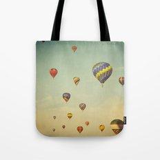 Floating in Space Tote Bag