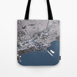 Chicago City Map II Tote Bag