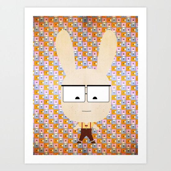 NERD \  Todos somos Conejos  \  We are all rabbits  Art Print