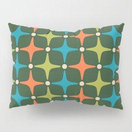 Mid Century Modern Star Pattern 934 Pillow Sham
