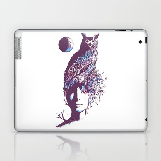 Night Watcher Laptop & iPad Skin