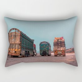 Trucks of Pakistan Rectangular Pillow