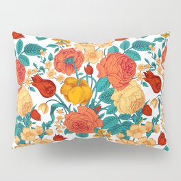 Vintage flower garden Pillow Sham