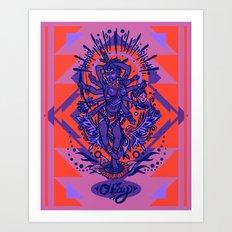West Kali - Color Art Print