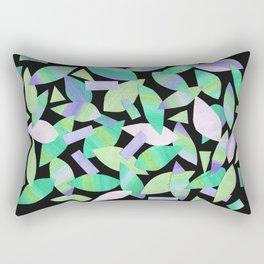 Leaf Litter (dark) Rectangular Pillow