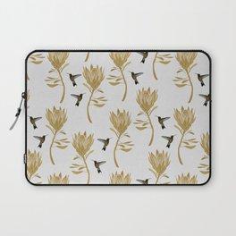 Hummingbird & Flower I Laptop Sleeve