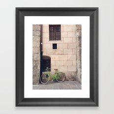 Nice Bike Framed Art Print