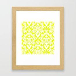 Lemon Fancy Framed Art Print