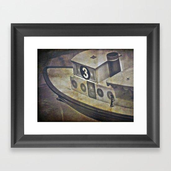 #3 Boat Framed Art Print