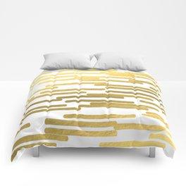Gold Bars - trendy hipster gold foil shiny sparkle gilded gold bars money art print phone case  Comforters