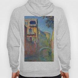 Rio della Salute by Claude Monet Hoody