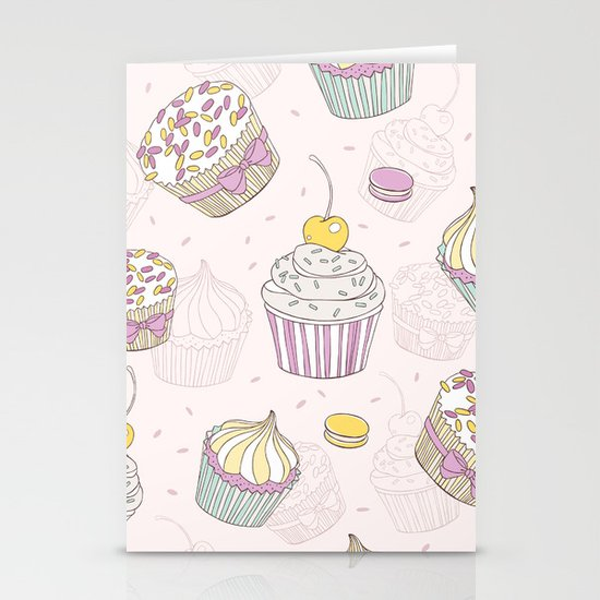 Sweets Galore! Stationery Cards