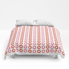 Rose Orange 01 Comforters