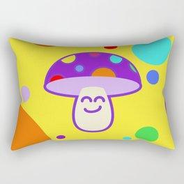 Shroomie - The friendly Magic Mushroom Rectangular Pillow