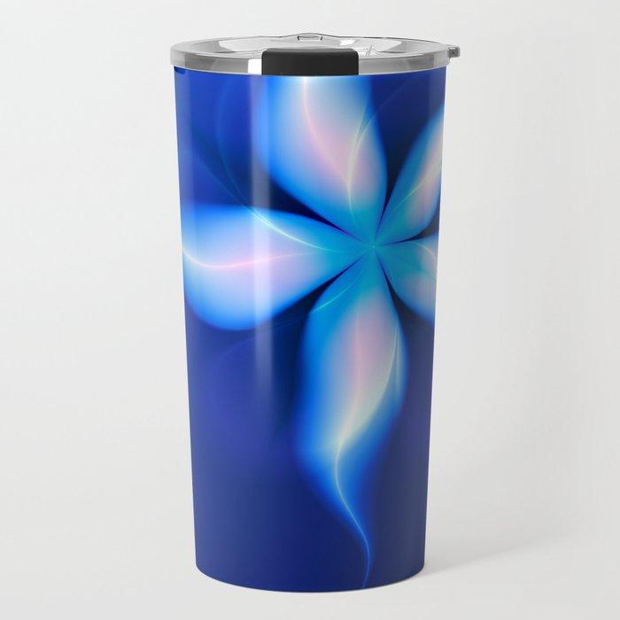 La Fleur Magique de la Sorcière Fractal Travel Mug