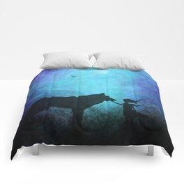 Wolf Whisperer Comforters