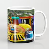 forever young Mugs featuring Forever Young by CrismanArt
