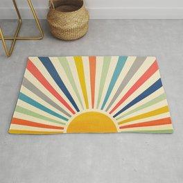 Sun Retro Art III Rug
