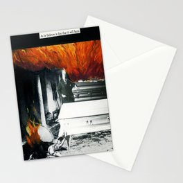 Total Post Mortum Immolation (funeral metal 3) Stationery Cards