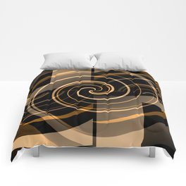Caramel & Licorice Fudge Comforters