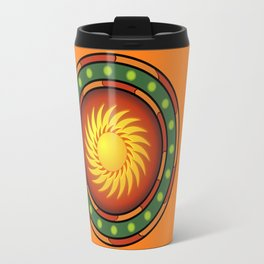 Mexican logo Travel Mug
