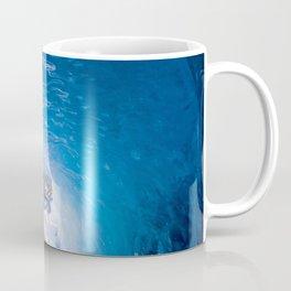 Nature Alaska USA Mendenhall Glacier Juneau Ice Bing Cave Winter caves Coffee Mug