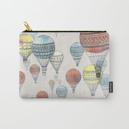 Voyages Hot Air Balloons Carry-All Pouch