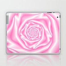 Pale Pink Spiral Rose Laptop & iPad Skin