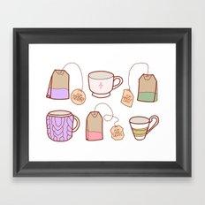 idealist tea Framed Art Print