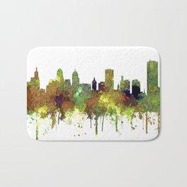 Buffalo, New York Skyline - SG Safari Buff Badematte