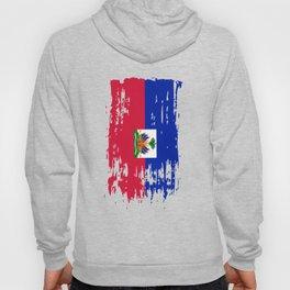 HT HTI Haiti Flag Hoody