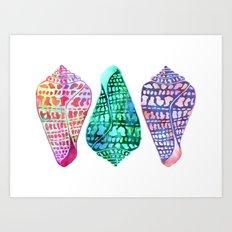 SEASHELL LOVE II Art Print