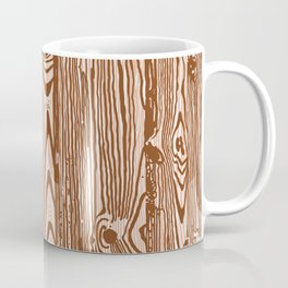 c13D Woodgrain Coffee Mug