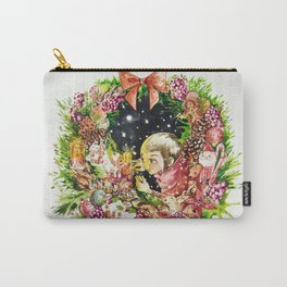 Holiday wreath Carry-All Pouch