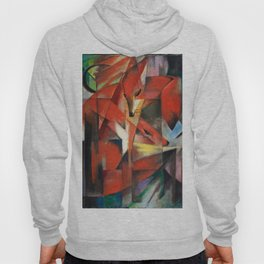 """Franz Marc """"The foxes"""" Hoody"""