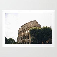 Colosseum landscape II Art Print