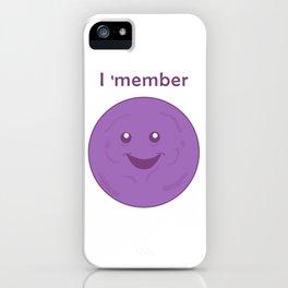I member - member berries iPhone Case