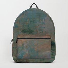 Claude Monet - Impression, soleil levant.jpg Backpack