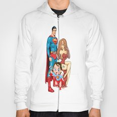 super heros family Hoody