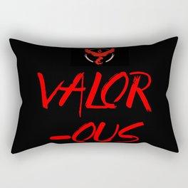 VALOR-OUS Rectangular Pillow