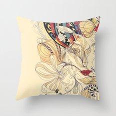 jardineira Throw Pillow