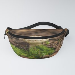 From Little Things - Perfect Mushroom in Fallen Leaves Fanny Pack