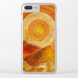 Sunset w.02 Clear iPhone Case