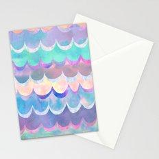 Mia Wave {Aqua} Stationery Cards