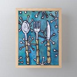 Tiki Tools Framed Mini Art Print