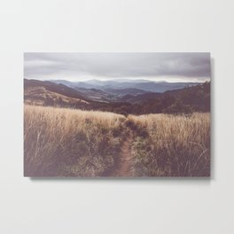 Bieszczady Mountains - Landscape and Nature Photography Metal Print