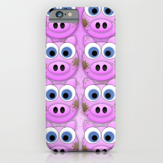 Dirty Little Piggies iPhone & iPod Case