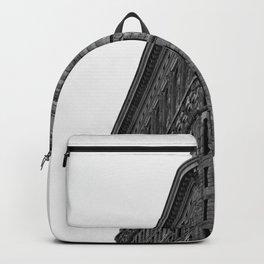 Flatiron Black and White NYC Backpack